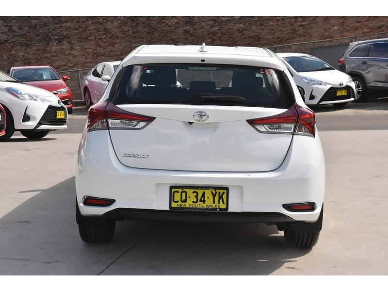 2018  Toyota Corolla Ascent Hatchback (White) Pre-Owned Car  Large Picture 5
