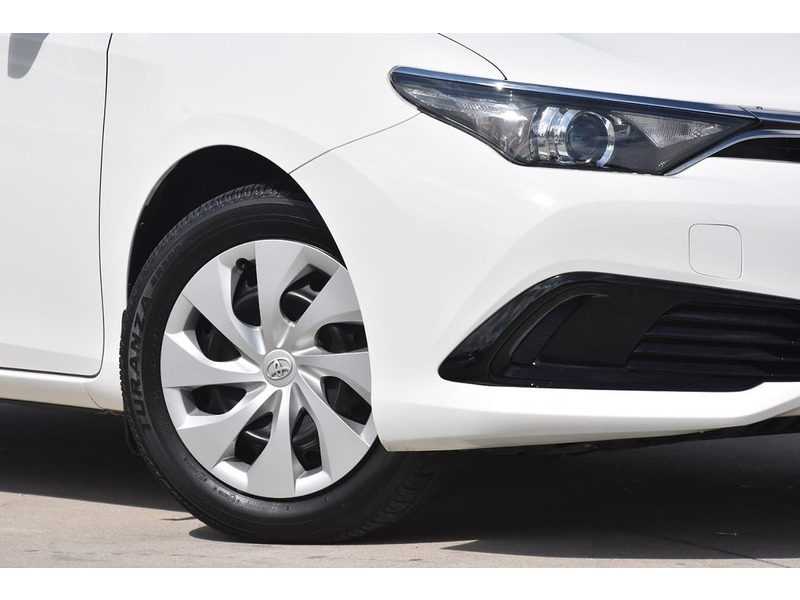 2018  Toyota Corolla Ascent Hatchback (White) Pre-Owned Car  Large Picture 6