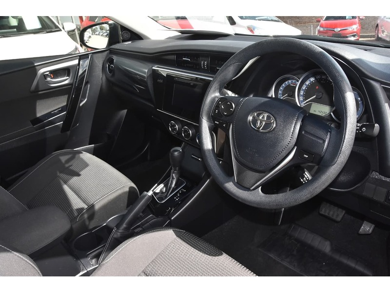 2018  Toyota Corolla Ascent Hatchback (White) Pre-Owned Car  Large Picture 9