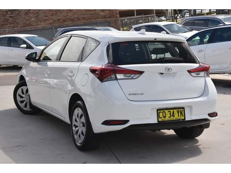 2018  Toyota Corolla Ascent Hatchback (White) Pre-Owned Car  Large Picture 2