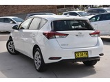 2018  Toyota Corolla Ascent Hatchback (White) Pre-Owned Car Thumbnail 2
