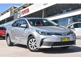 2017  Toyota Corolla Ascent Sedan (Silver) Pre-Owned Car Thumbnail