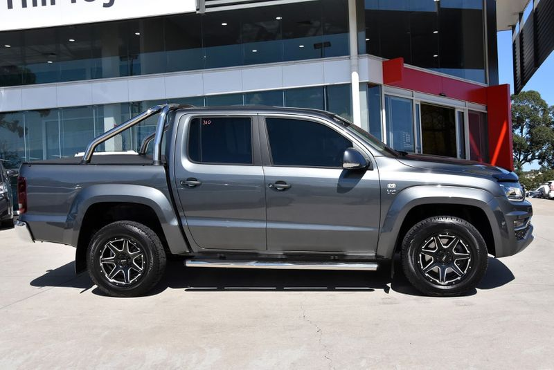 2018  Volkswagen Amarok Tdi550 Highline Utility (Grey) Pre-Owned Car  Large Picture 17