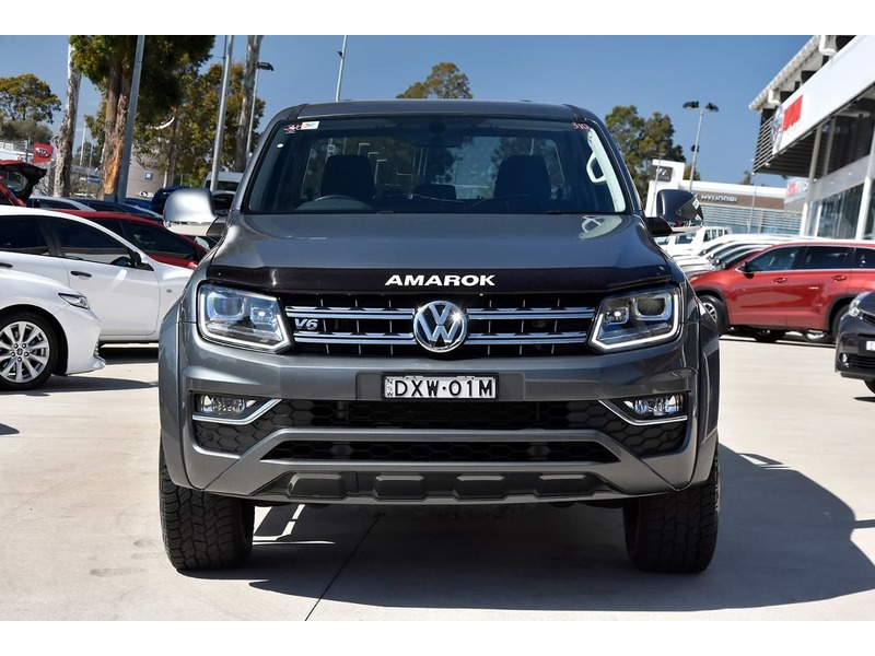 2018  Volkswagen Amarok Tdi550 Highline Utility (Grey) Pre-Owned Car  Large Picture 24
