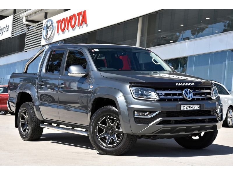 2018  Volkswagen Amarok Tdi550 Highline Utility (Grey) Pre-Owned Car  Large Picture 21