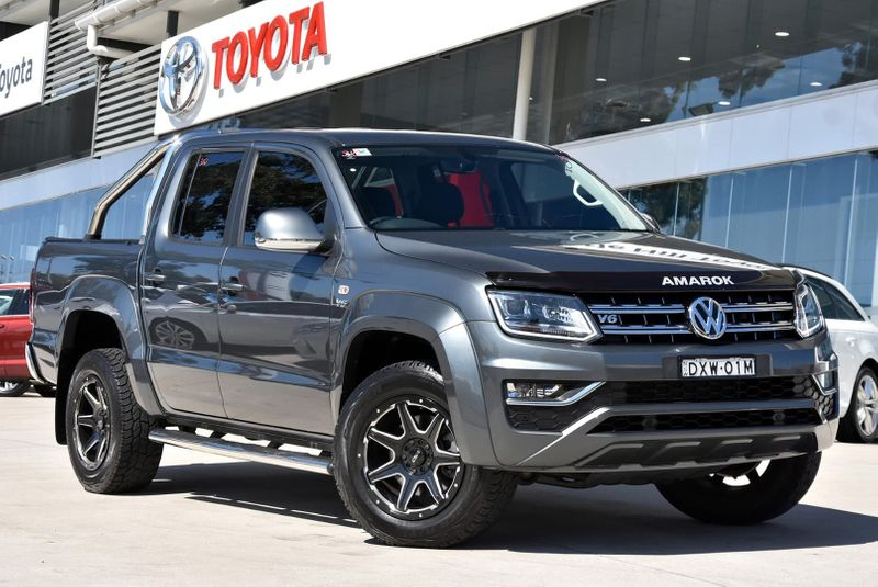 2018  Volkswagen Amarok Tdi550 Highline Utility (Grey) Pre-Owned Car  Large Picture 4