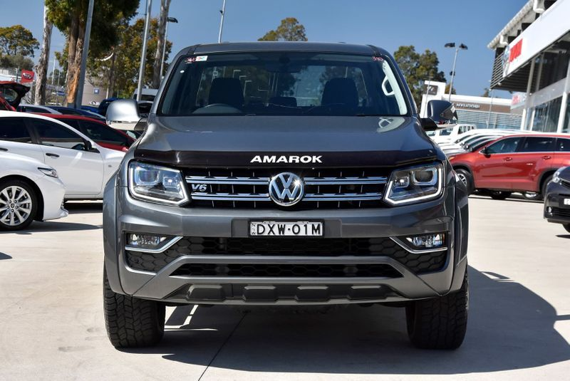2018  Volkswagen Amarok Tdi550 Highline Utility (Grey) Pre-Owned Car  Large Picture 12