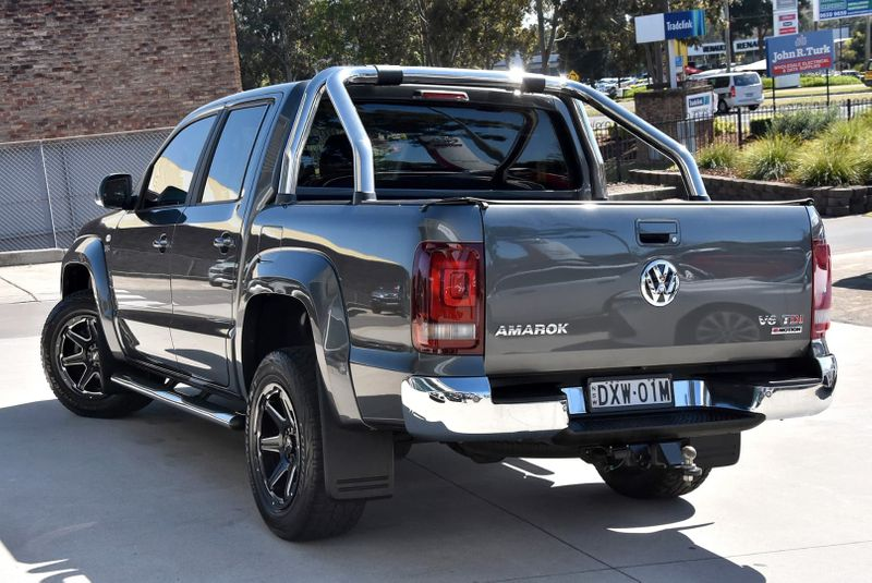 2018  Volkswagen Amarok Tdi550 Highline Utility (Grey) Pre-Owned Car  Large Picture 9