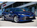 2019  Toyota Camry Ascent Sedan (Blue) Pre-Owned Car Thumbnail