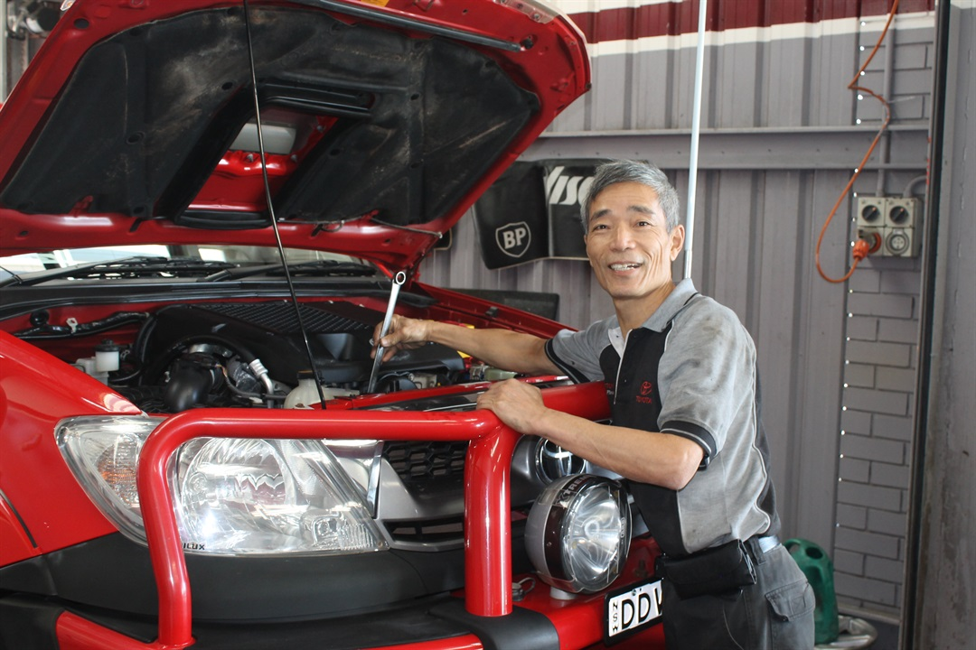 Toyota trained Technicians