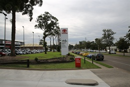 Castle Hill Toyota Dealership 1