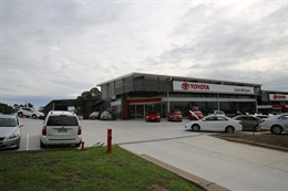 Castle Hill Toyota Dealership 2