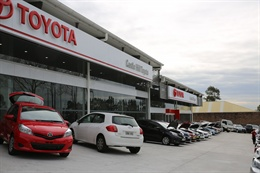 Castle Hill Toyota Dealership 3